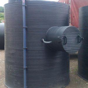 Vertikalni rezervoar za skladistenje lož ulja