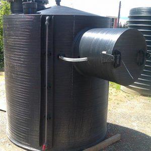 Vertikalni rezervoar za skladistenje goriva