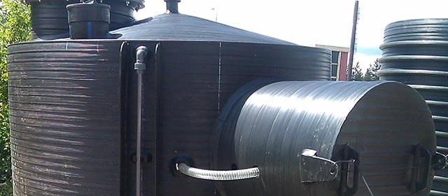 Plastični rezervoari za naftu