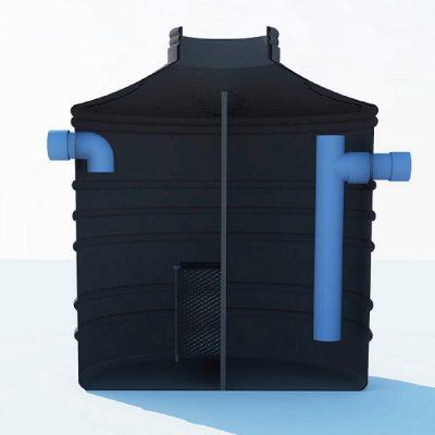 separatori masti i ulja sa koalescentnim filterom