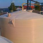 Motaža termoizolovanog rezervoara za masnu kiselinu