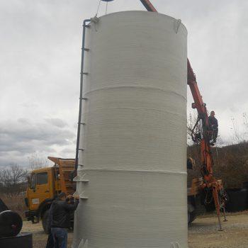 Plastični rezervoari za demi-vodu