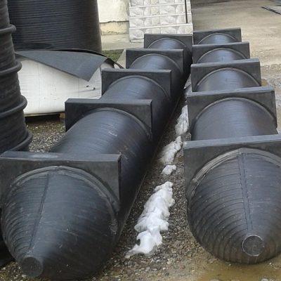 Plastični pontoni za splavove