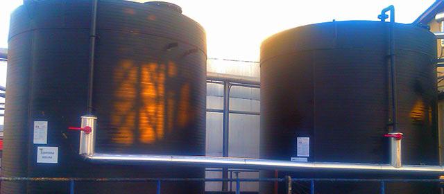 Plastični rezervoari za sumpornu kiselinu