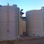 Termoizolovani rezervoari za skladištenje masne kiseline V 30 000l