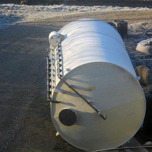 Vertikalni rezervoar za skladistenje HCL