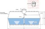 Sistem za preciscavanje otpadne vode - horizontalni