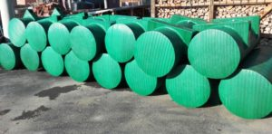 Burići za splavove zelene boje