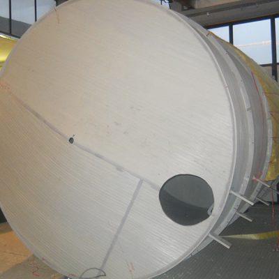 Plastični termoizolovani rezervoar mineralna vuna
