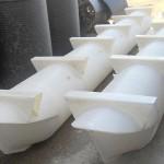 Plastični pontoni za splav