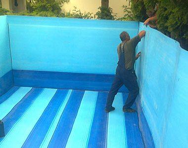 Plastični bazen za vodu