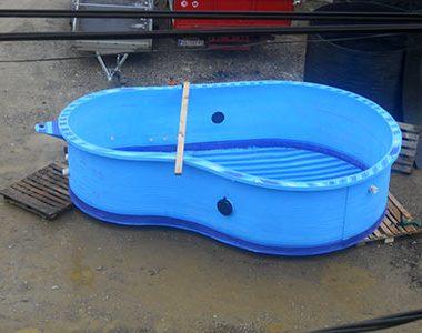 Bazen za kupanje od plastike