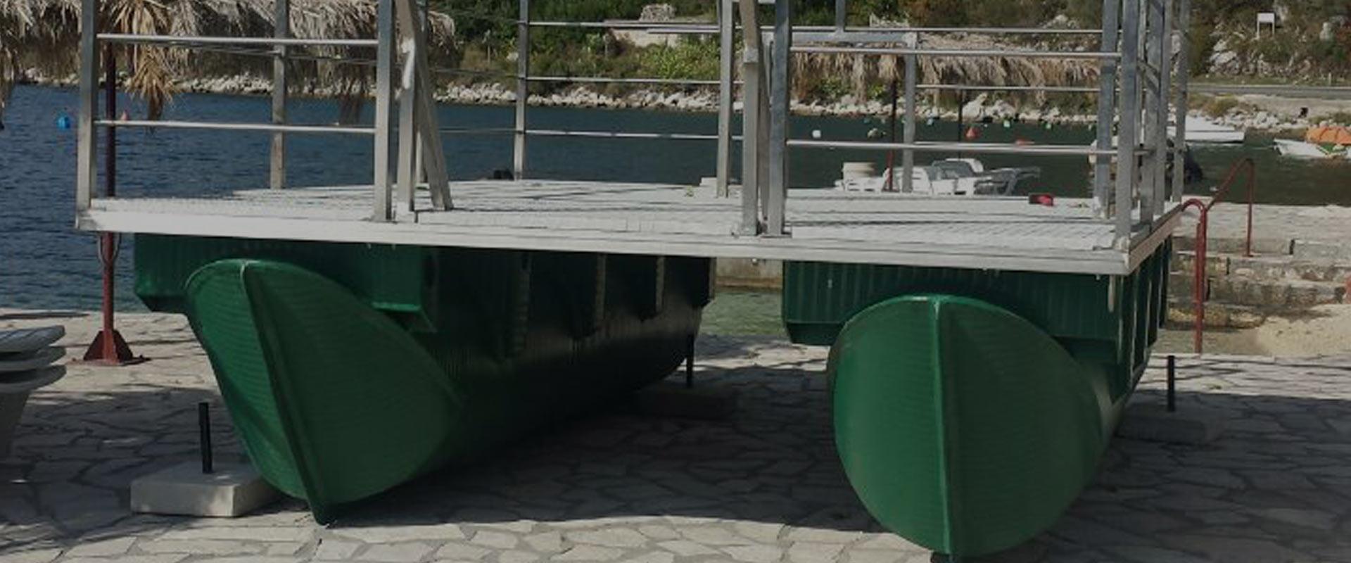 pontoni za katamarane